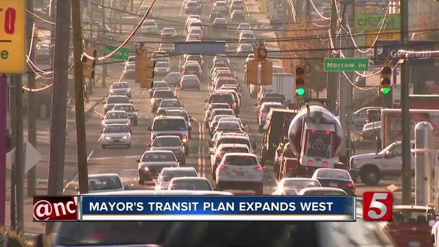 Mayor-s Transit Plan Expands West