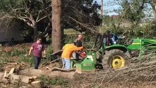 Volunteers Help Clean Up Joelton Tornado Damage