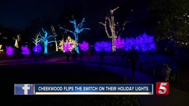 Cheekwood Opens Holiday Lights To Public