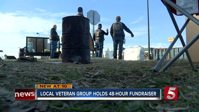 Veterans Hold 48-Hour Fundraiser For Veterans