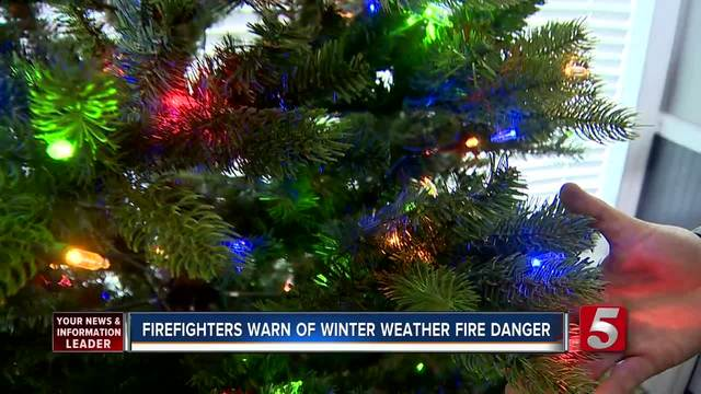 Fire department issues warning on space heaters