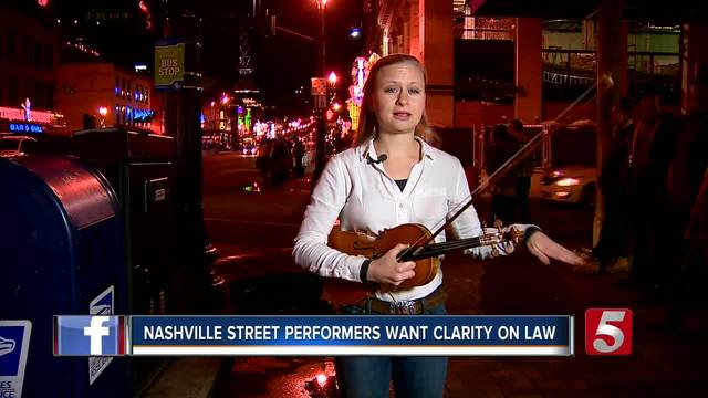 Street Performers Want Clarity on Law Banning Some ... Hillary Klug