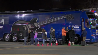 Bands Give Tours Of Buses To Help Children