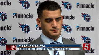 Mariota's Struggles Start With Injury