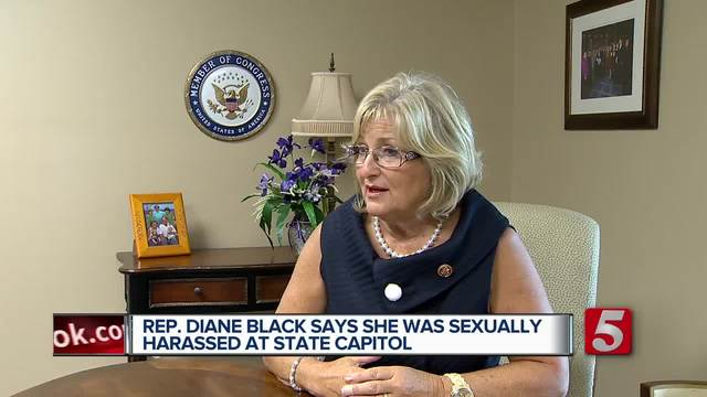 Rep- Diane Black Says She Was Sexually Harassed