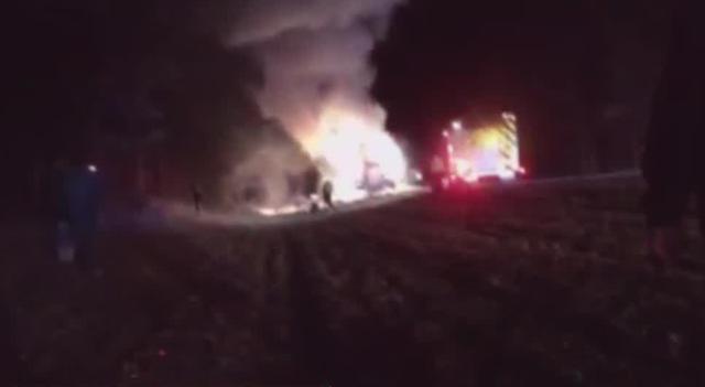Driver Helps Rescue I-24 Van Fire Victims