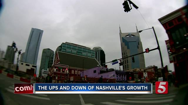 Report Shows Positive Growth In Nashville Region