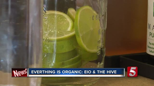 Everything Is Organic At Eio -amp- The Hive