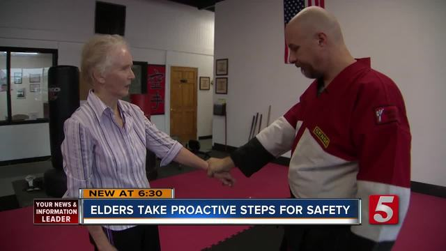 Elderly Turn To Self Defense For Safety