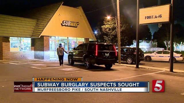 2 Men Sought After Subway Burglary