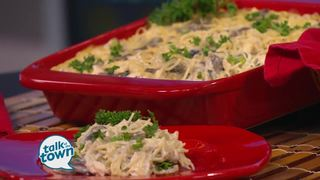 Recipe Makeover - Chicken Tetrazzini