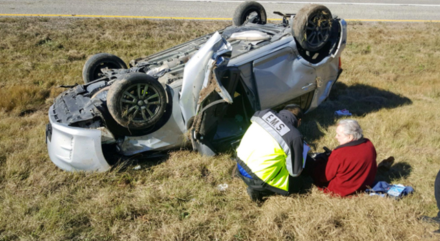 Country star Mickey Gilley and son recovering after rollover accident