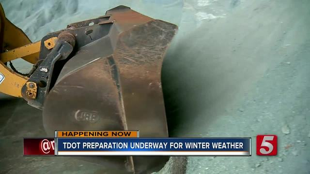 TDOT crews ready for the expected wintery mix