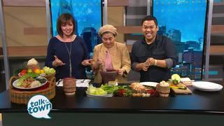 Food Network star Arnold Myint& Mom Patti Myint