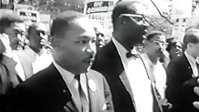 Protesters Take To Sacramento Streets In Name Of Martin Luther King, Jr