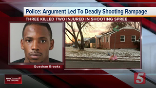 Triple Fatal Shooting Caught On Surveillance