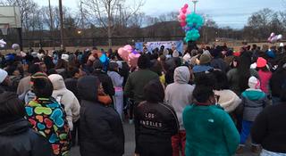 Vigil Remembers 2 Girls Killed In Shooting