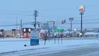 Snow Accumulating On Clarksville Roads