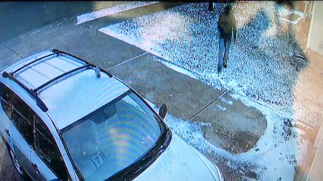 Thieves Caught After Stealing Running Vehicle