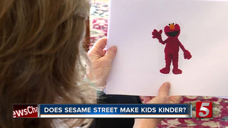 Does Watching 'Sesame Street' Make Kids Kinder?
