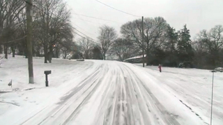 Some Roads Still Icy After Snow Falls Across TN