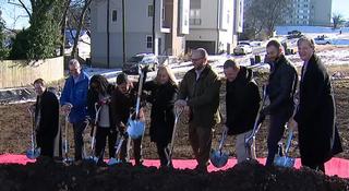 Officials Break Ground On New Workforce Housing