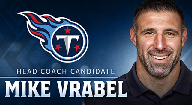 Tennessee Titans Choose Mike Vrabel As Head Coach