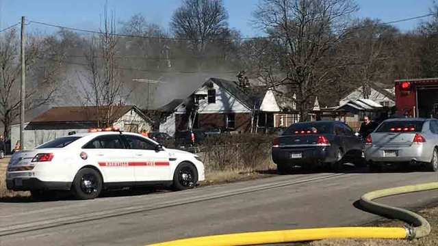 2 Injured, Dog Killed In Madison House Fire