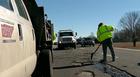 Crews Patch Potholes After Snowfall
