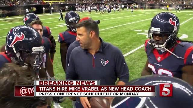 Titans name Mike Vrabel as next head coach, tapping Pats line after missing McDaniels
