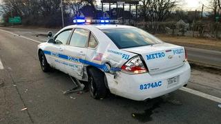 Officer Struck While Responding To Hit-&-Run