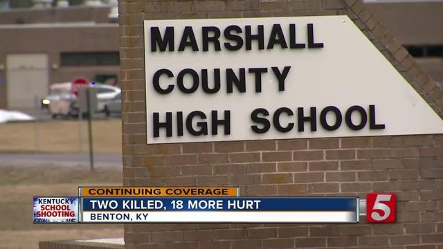 Students Dead  More Hurt In Kentucky School Shooting