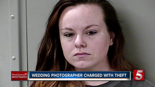 Wedding Photographer Arrested On Theft Charges