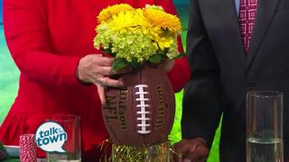 DIY Super Bowl Decor from Dollar Store Finds