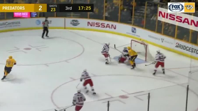 National Hockey League suspends Predators' Forsberg 3 games for hit on Vesey