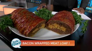 Mac and Cheese Bacon Wrapped Meat Loaf Recipe