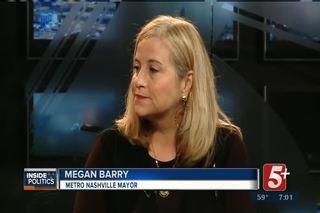Inside Politics: Mayor Megan Barry