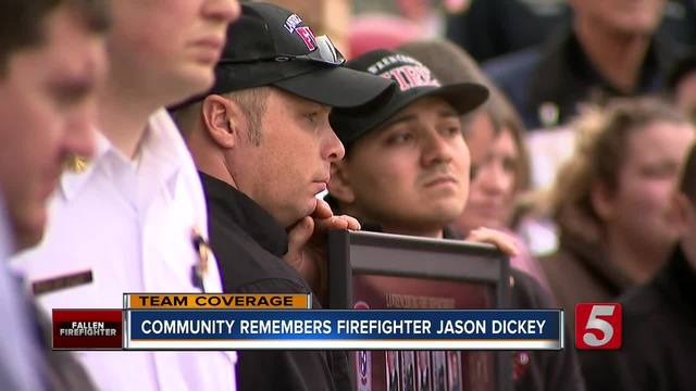 Condolences Pour In For Fallen Lawrenceburg Firefighter