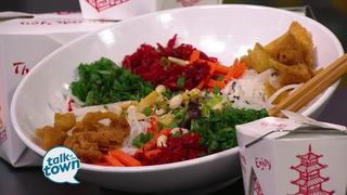 Chinese Prosperity Salad from Tánsuŏ