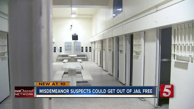 Nashville Judges- Plan Could Release Inmates Without Bail