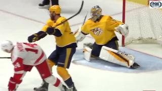 Mrazek Beats Predators Again, Red Wings Win 3-1