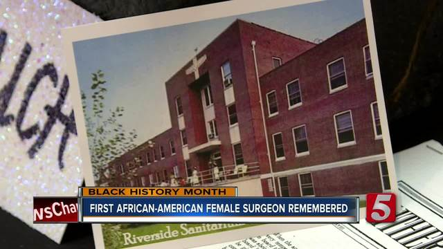 Nashville Church Remembers 1st African-American Female Surgeon