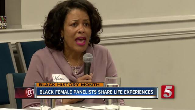 Black Female Panel Shares Life Stories- Lessons