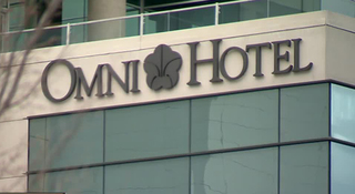 Workers Demand Wages After Working At Omni Hotel