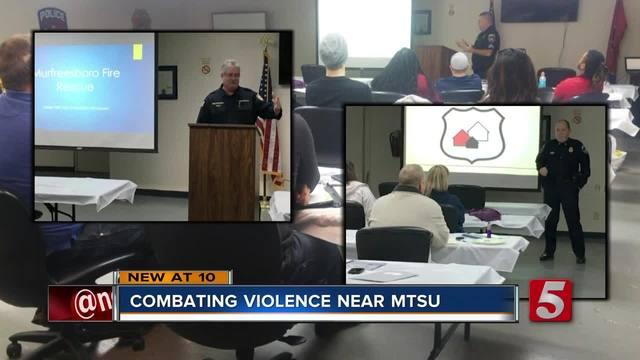 Murfreesboro Police Hold Training Class Toward Safe Apartment Certification