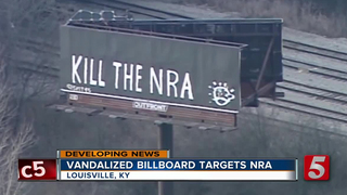 'Kill The NRA' Billboard Spotted In Kentucky