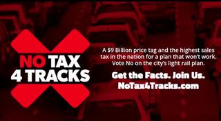 Anti-Transit Plan PAC Debuts First Ad