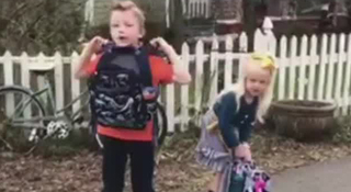 Local Mom Gets Bulletproof Backpack For Kids