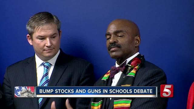 Lawmakers Talk Gun Control- Guns in Schools