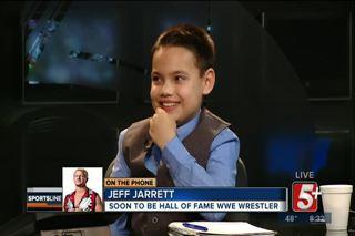10 year old Christian, SportsLine Superfan...